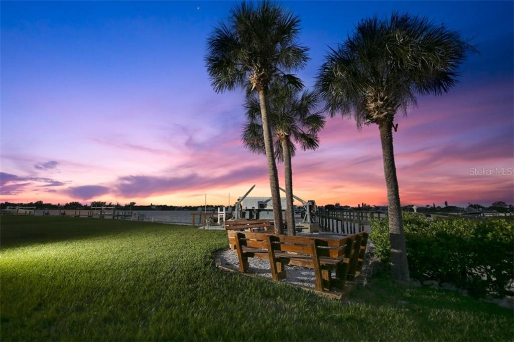 Beautiful sunset over the bay - Single Family Home for sale at 1778 Bayshore Dr, Englewood, FL 34223 - MLS Number is A4405962
