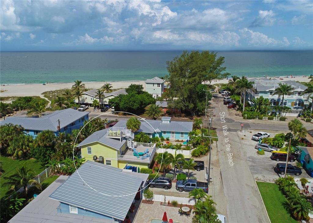 Very close to that beautiful  beach-- only 126 steps! - Single Family Home for sale at 113 36th St, Holmes Beach, FL 34217 - MLS Number is A4407267