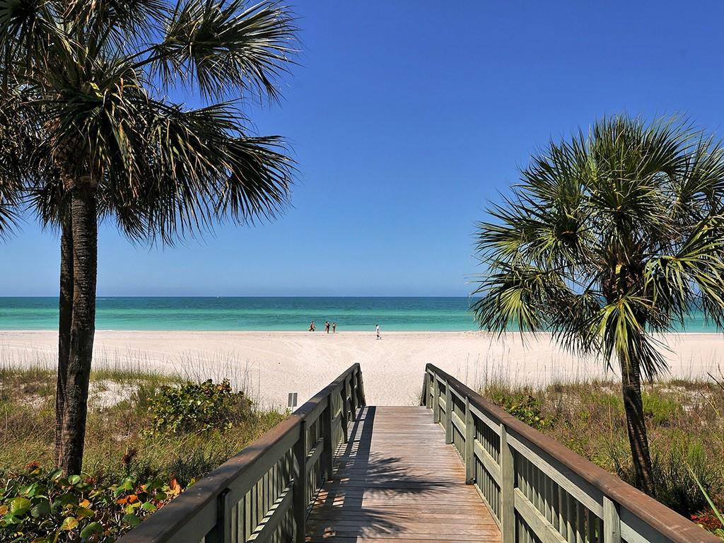 Boardwalk to Beach - Condo for sale at 1800 Benjamin Franklin Dr #b409, Sarasota, FL 34236 - MLS Number is A4408201