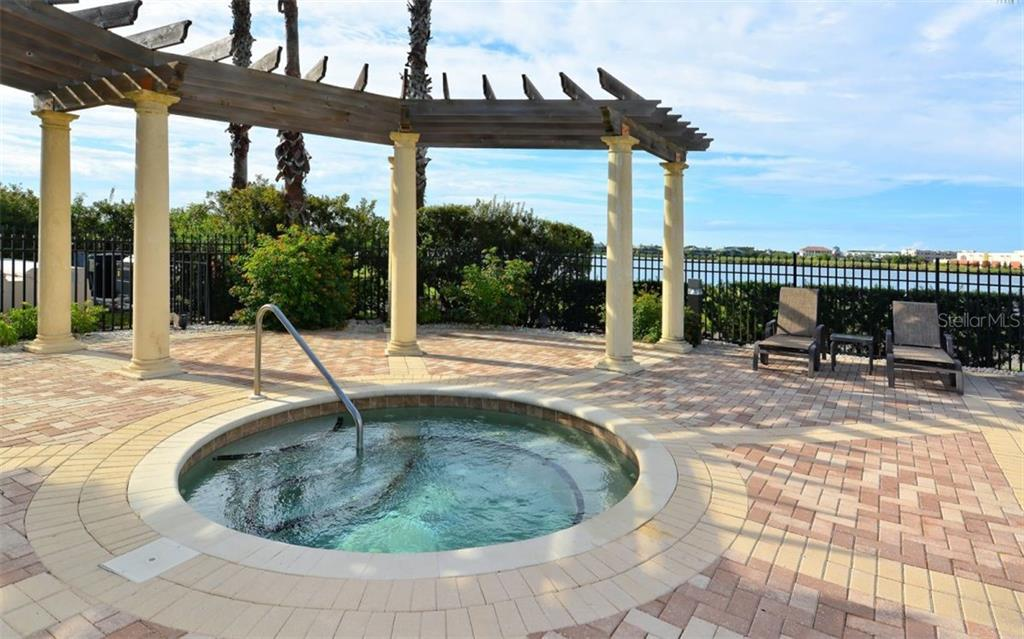 Spa by the Community Pool - Condo for sale at 6465 Watercrest Way #403, Lakewood Ranch, FL 34202 - MLS Number is A4409044