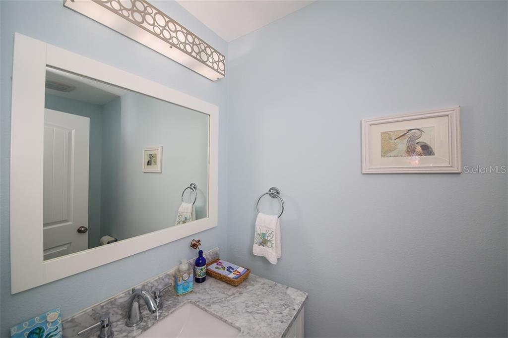 Powder Room - Condo for sale at 1910 Harbourside Dr #503, Longboat Key, FL 34228 - MLS Number is A4409634