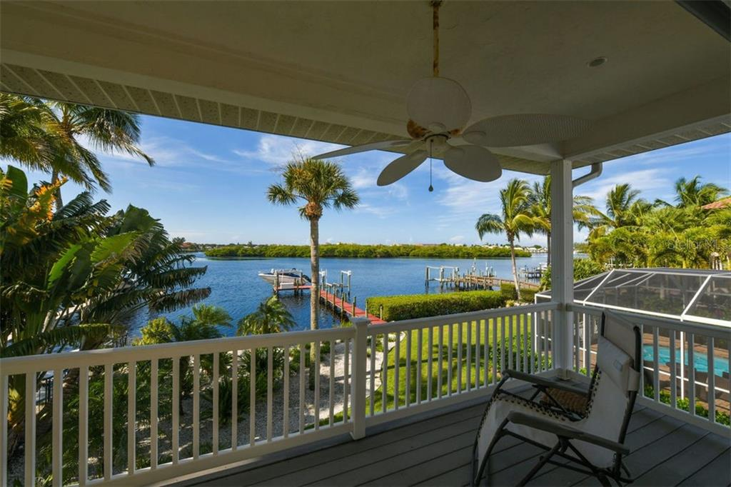 Incredible views from Master Balcony. - Single Family Home for sale at 417 Bayview Pkwy, Nokomis, FL 34275 - MLS Number is A4411087
