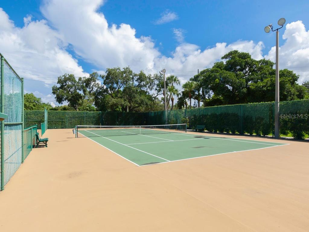 Tennis Courts. - Condo for sale at 5780 Midnight Pass Rd #208, Sarasota, FL 34242 - MLS Number is A4411755