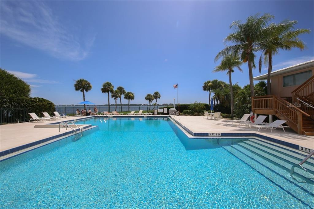 One of 3 pools … this one is just steps away, and marina in view - Condo for sale at 11000 Placida Rd #2304, Placida, FL 33946 - MLS Number is A4413206
