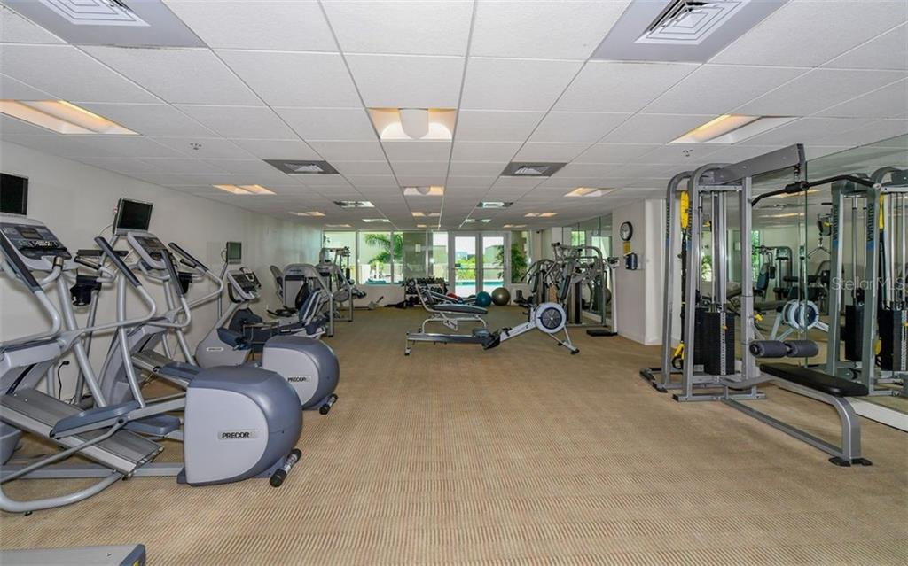 Fitness Center - Condo for sale at 1771 Ringling Blvd #1011, Sarasota, FL 34236 - MLS Number is A4414630