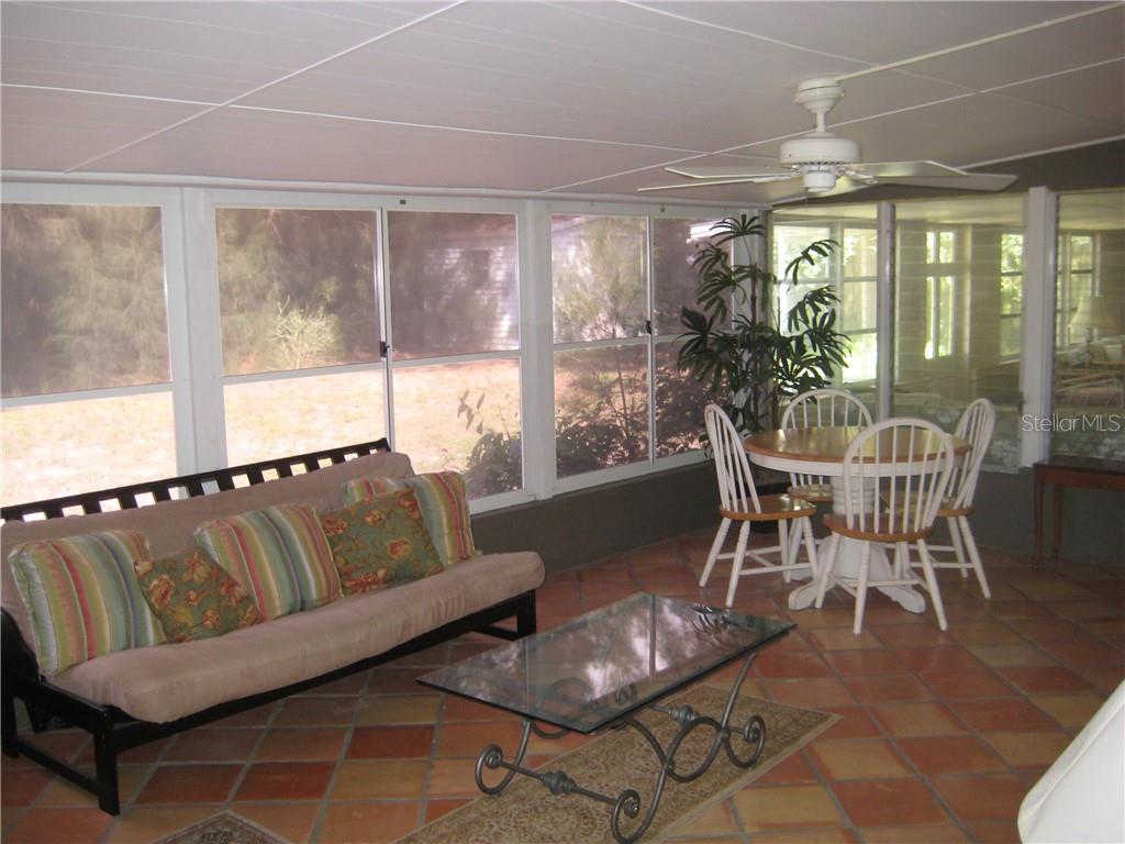 Large Lanai with Bathroom / Shower - Single Family Home for sale at 410 Valencia Rd, Venice, FL 34285 - MLS Number is A4416073