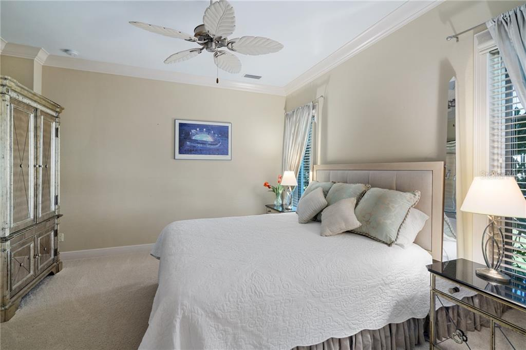 GUEST BEDROOM 1 - Single Family Home for sale at 4121 Founders Club Dr, Sarasota, FL 34240 - MLS Number is A4417319