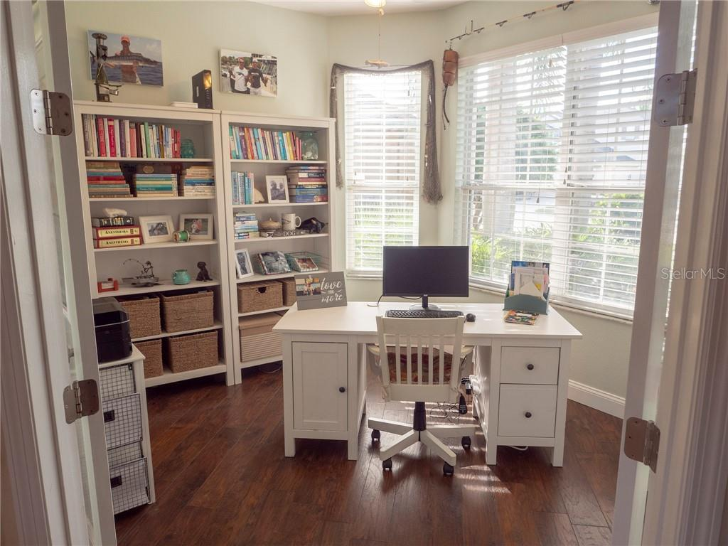 Work is a pleasure in this light and airy office with french doors right off the kitchen and family room. - Single Family Home for sale at 3803 5th Ave Ne, Bradenton, FL 34208 - MLS Number is A4417524