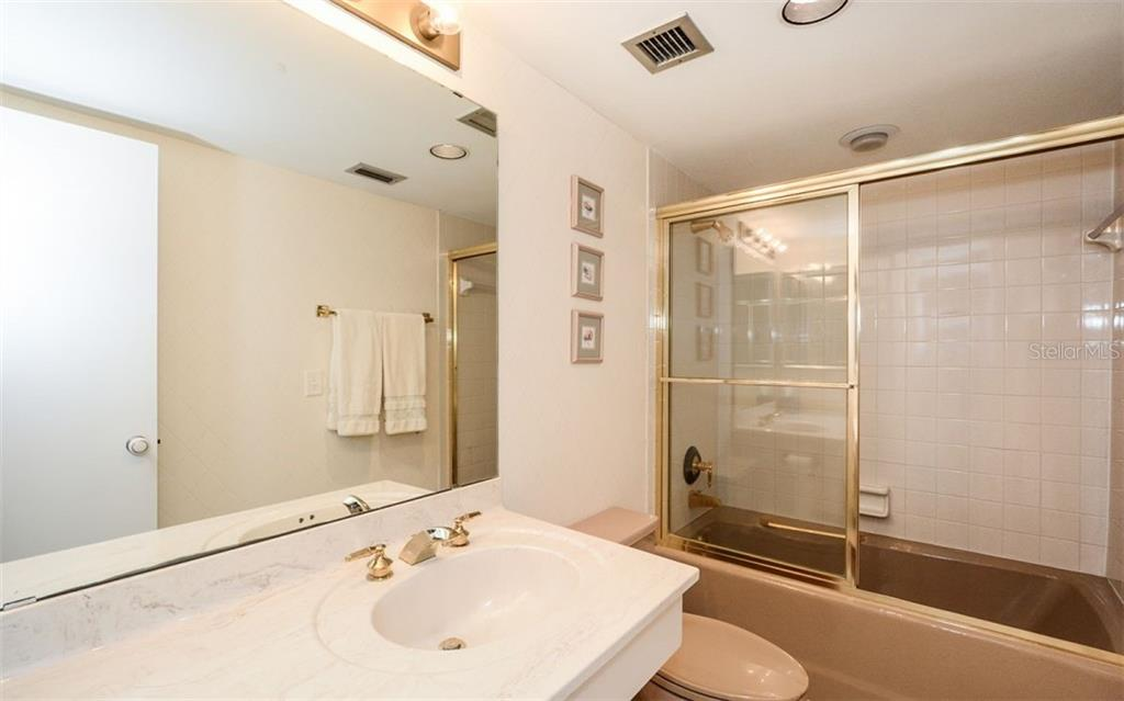 Guest Bathroom - Condo for sale at 5880 Midnight Pass Rd #906, Sarasota, FL 34242 - MLS Number is A4417599