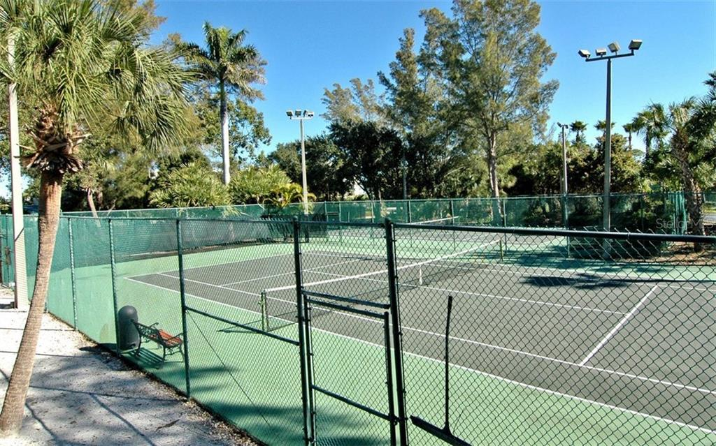 Tennis Courts - Condo for sale at 5880 Midnight Pass Rd #906, Sarasota, FL 34242 - MLS Number is A4417599