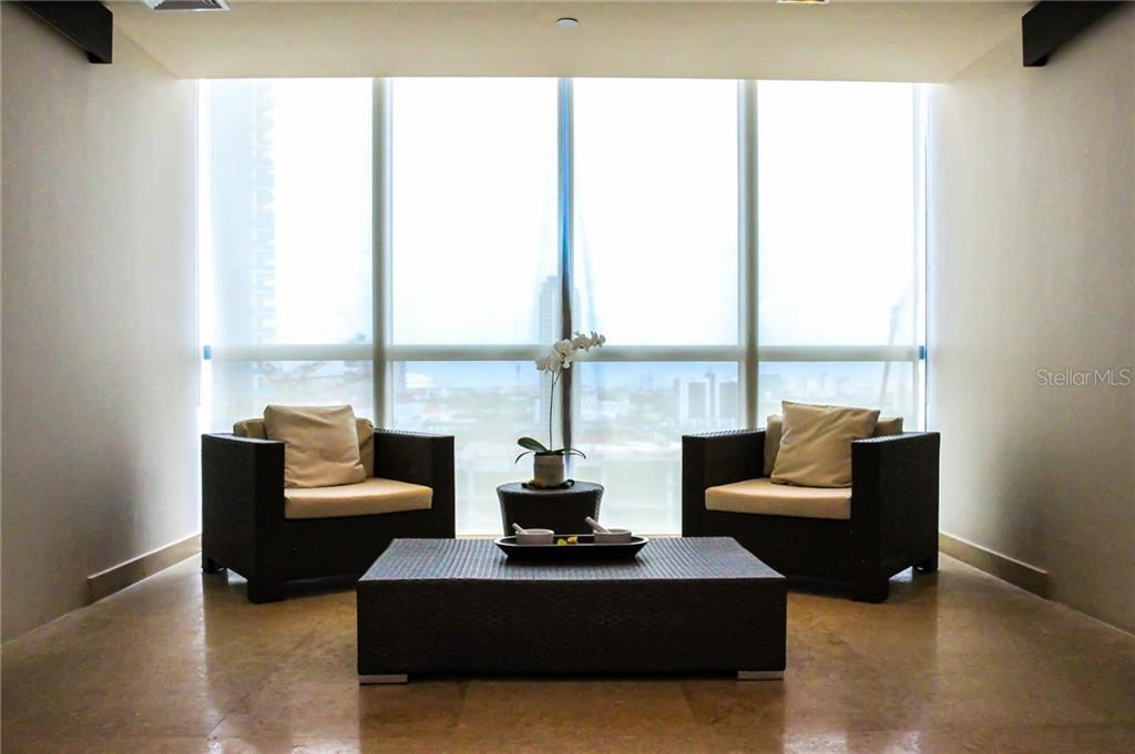 Relax and enjoy the many areas to visit. - Condo for sale at 900 Biscayne #301, Miami, FL 33132 - MLS Number is A4420957