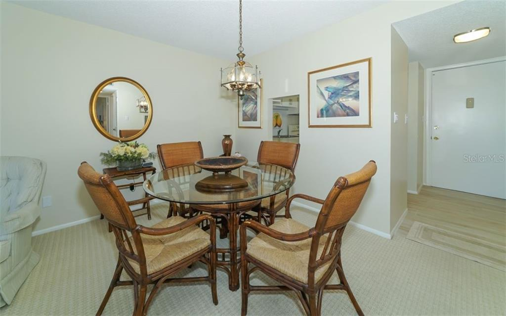 Dining Area - Condo for sale at 4370 Chatham Dr #204, Longboat Key, FL 34228 - MLS Number is A4421600