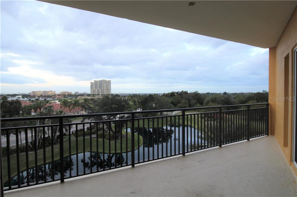 Balcony with views - Condo for sale at 501 Haben Blvd #504, Palmetto, FL 34221 - MLS Number is A4421758