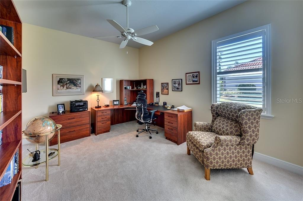 Large 3rd bedroom could be an office or man cave. - Single Family Home for sale at 19452 Beacon Park Pl, Bradenton, FL 34202 - MLS Number is A4422948