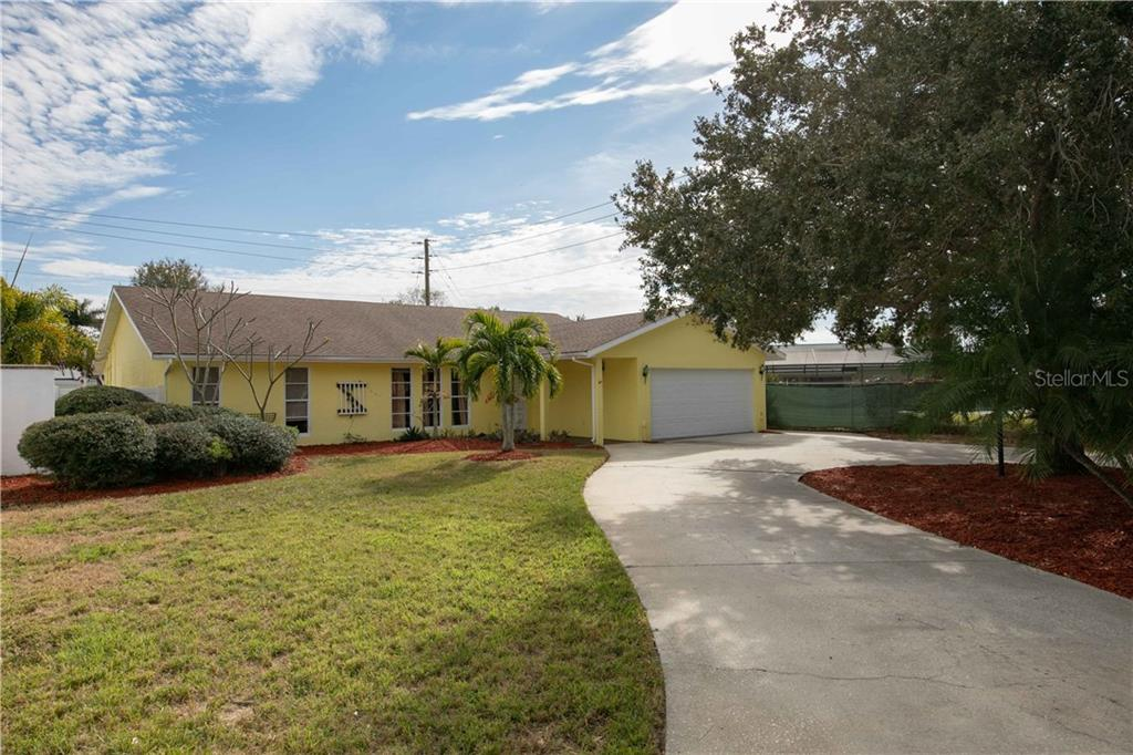 This home is in great shape and is it's own private escape. Come see it today! - Single Family Home for sale at 6213 8th Avenue Dr W, Bradenton, FL 34209 - MLS Number is A4423560