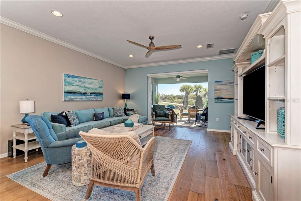 Check out the lovely view of the preserve which can be seen from the entire living area! - Single Family Home for sale at 5260 Bentgrass Way, Bradenton, FL 34211 - MLS Number is A4424484