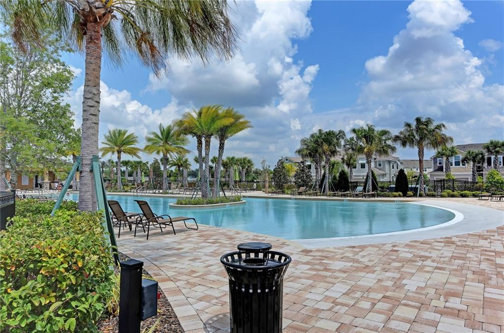 You'll feel like you're at a resort swimming in your community pool! - Single Family Home for sale at 5260 Bentgrass Way, Bradenton, FL 34211 - MLS Number is A4424484