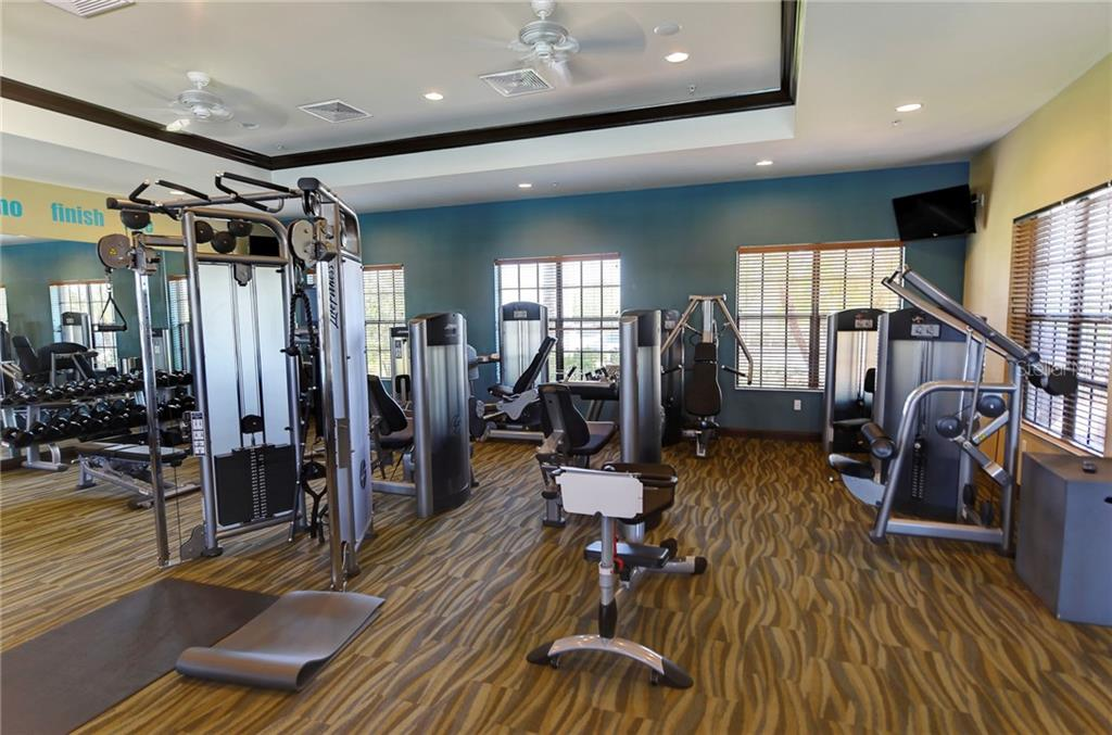 Community fitness center - Single Family Home for sale at 5712 Tidewater Preserve Blvd, Bradenton, FL 34208 - MLS Number is A4424693
