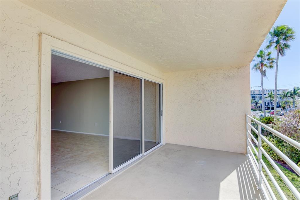 Balcony off of living room - Condo for sale at 773 Benjamin Franklin Dr #7, Sarasota, FL 34236 - MLS Number is A4427752