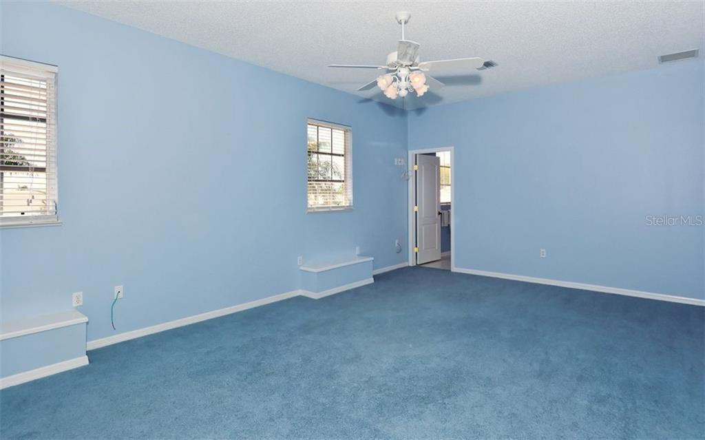4th bedroom is upstairs with large closets and private full bath - Single Family Home for sale at 1636 Liscourt Dr, Venice, FL 34292 - MLS Number is A4429524