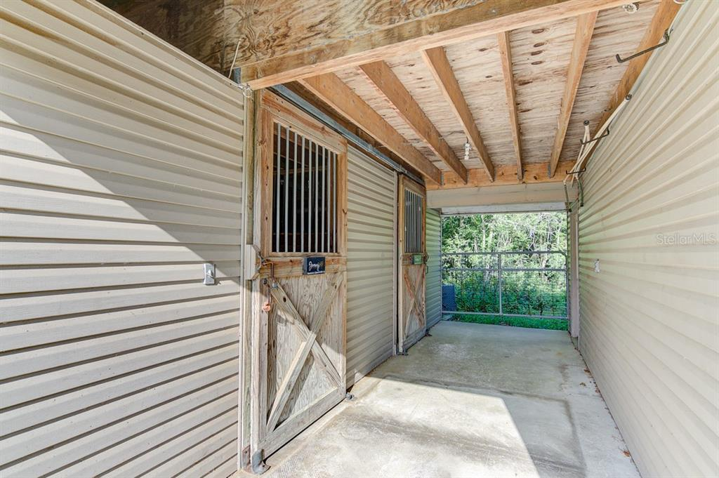 Stable area with 2 stalls - Single Family Home for sale at 7945 Palmer Blvd, Sarasota, FL 34240 - MLS Number is A4431318