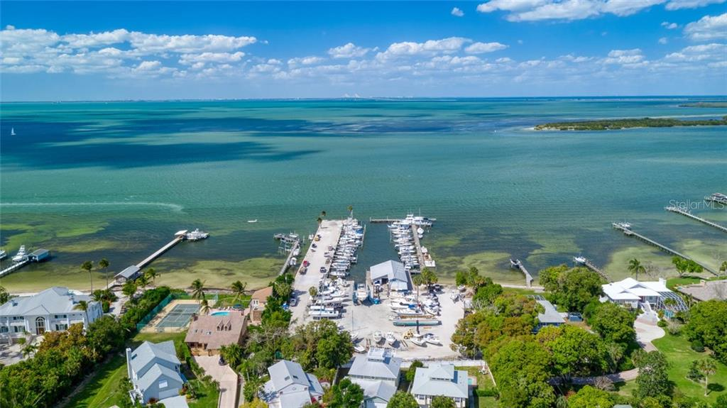The marina just around the corner - Single Family Home for sale at 2209 87th St Nw, Bradenton, FL 34209 - MLS Number is A4431845