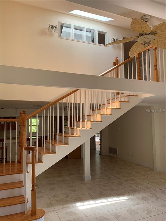 Stairway To Upper Level - Single Family Home for sale at 1225 Sea Plume Way, Sarasota, FL 34242 - MLS Number is A4434060