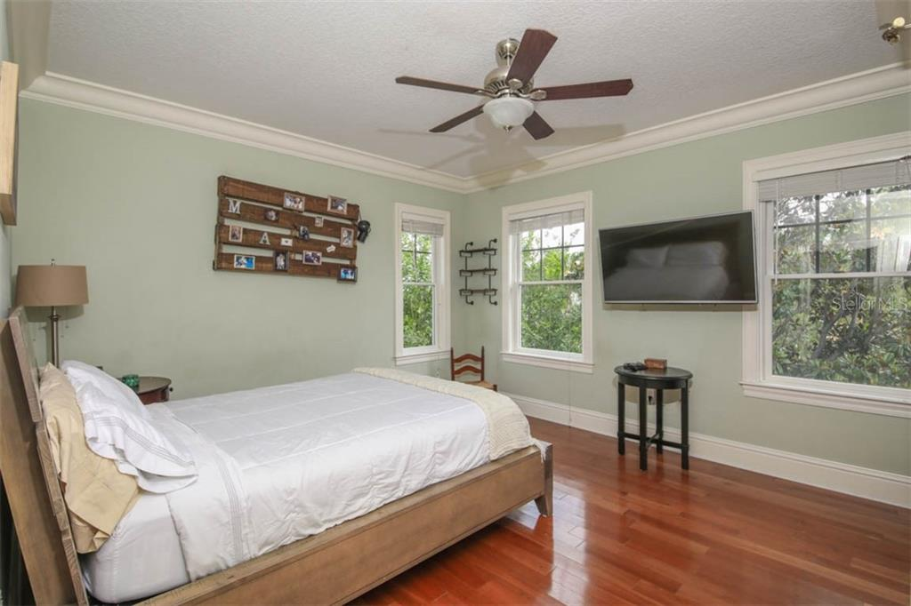 Bedroom 3 - Single Family Home for sale at 7153 Hawks Harbor Cir, Bradenton, FL 34207 - MLS Number is A4434661