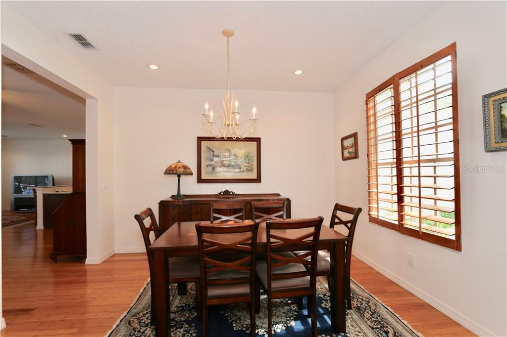 Dining room - Single Family Home for sale at 5082 47th St W, Bradenton, FL 34210 - MLS Number is A4435806