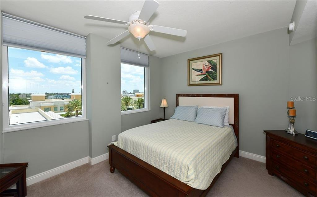 2nd Bedroom - Condo for sale at 800 N Tamiami Trl #602, Sarasota, FL 34236 - MLS Number is A4436915