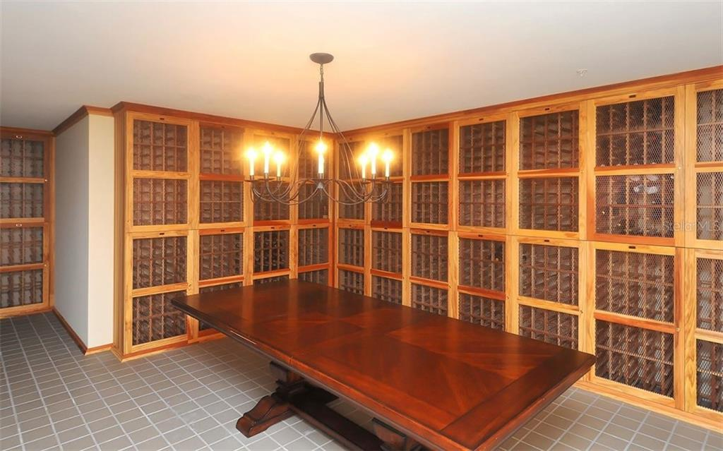 Wine storage space is available for a separate fee - Condo for sale at 800 N Tamiami Trl #602, Sarasota, FL 34236 - MLS Number is A4436915