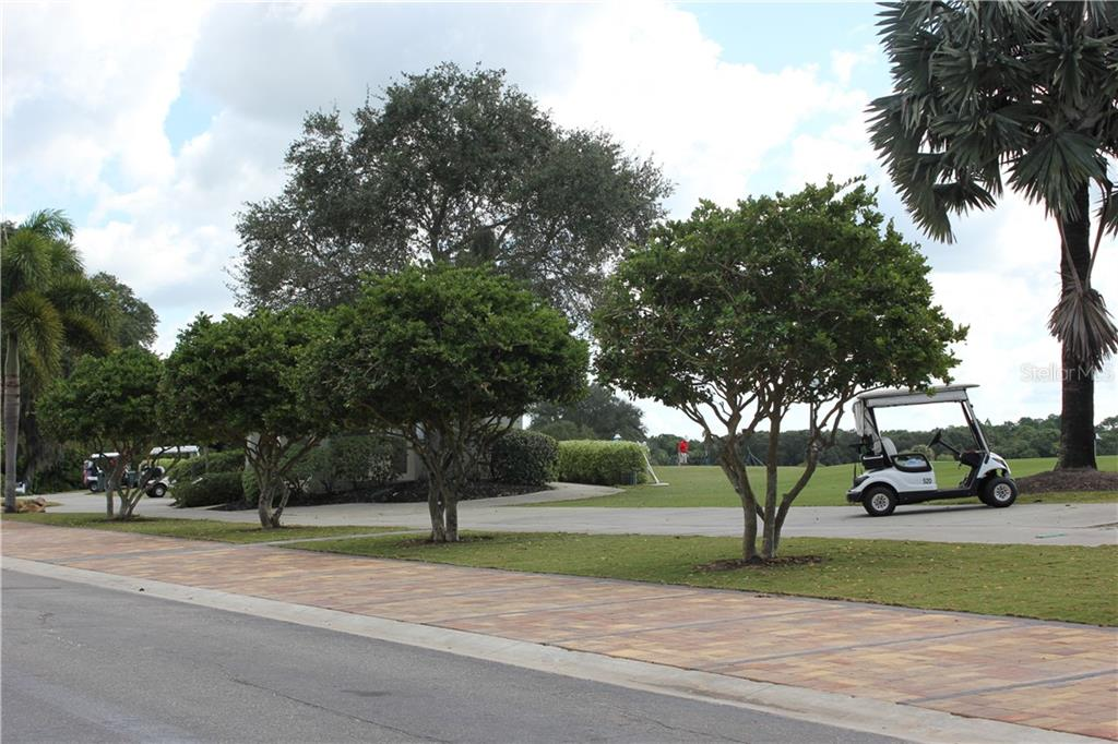 Driving Range and staging area for tournaments..... - Single Family Home for sale at 348 Melrose Ct, Venice, FL 34292 - MLS Number is A4439531