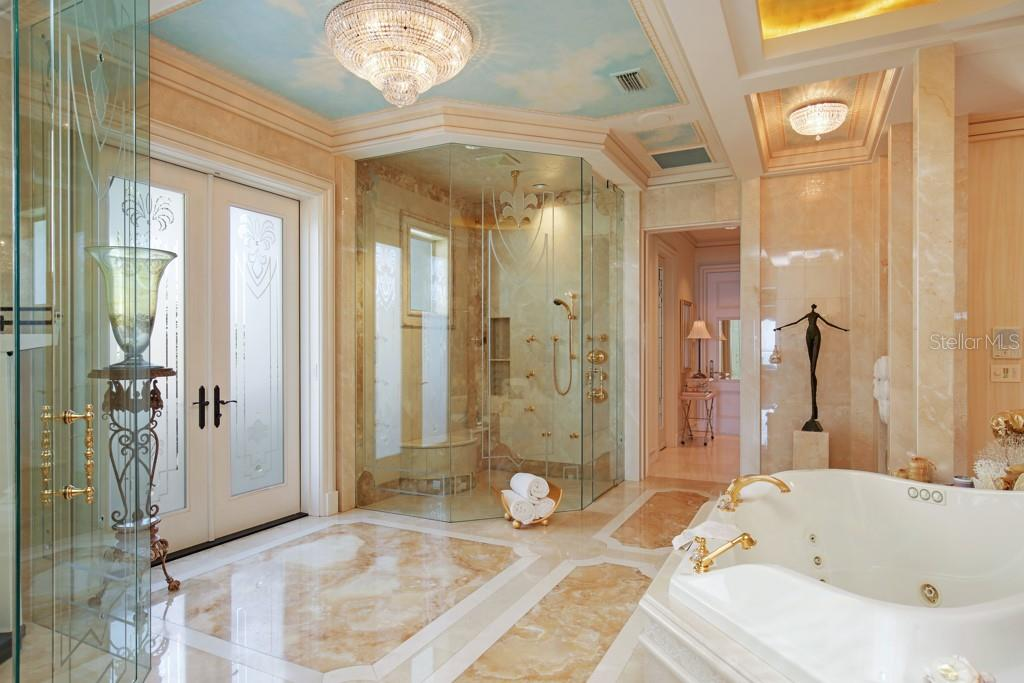 Master bathroom - Single Family Home for sale at 845 Longboat Club Rd, Longboat Key, FL 34228 - MLS Number is A4440615