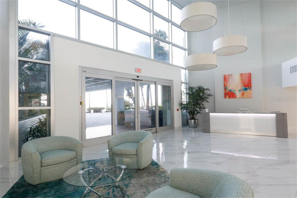 Lobby - Condo for sale at 888 Blvd Of The Arts #1505, Sarasota, FL 34236 - MLS Number is A4442061