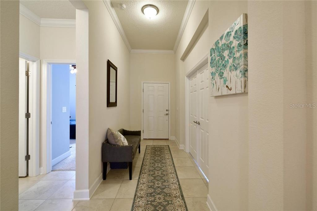 Entry hall - Single Family Home for sale at 12813 Balsam Ter, Bradenton, FL 34212 - MLS Number is A4443590