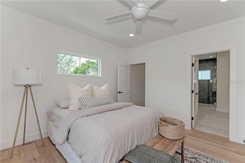 Upstairs Master Suite - Single Family Home for sale at 5035 Sandy Beach Ave, Sarasota, FL 34242 - MLS Number is A4445640