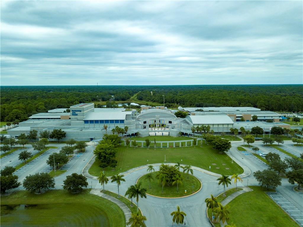 North Port High School and Performing Arts Center. - Vacant Land for sale at Clearfield St, North Port, FL 34286 - MLS Number is A4446706