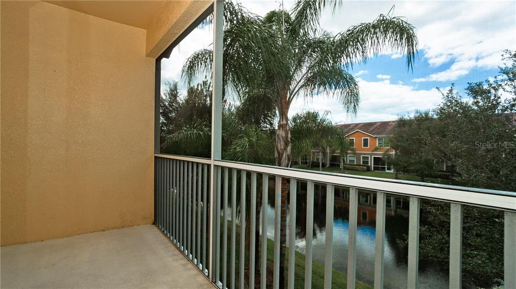 Screened lanai off Living room and Owner's suite - Condo for sale at 7815 Moonstone Dr #24-204, Sarasota, FL 34233 - MLS Number is A4446867