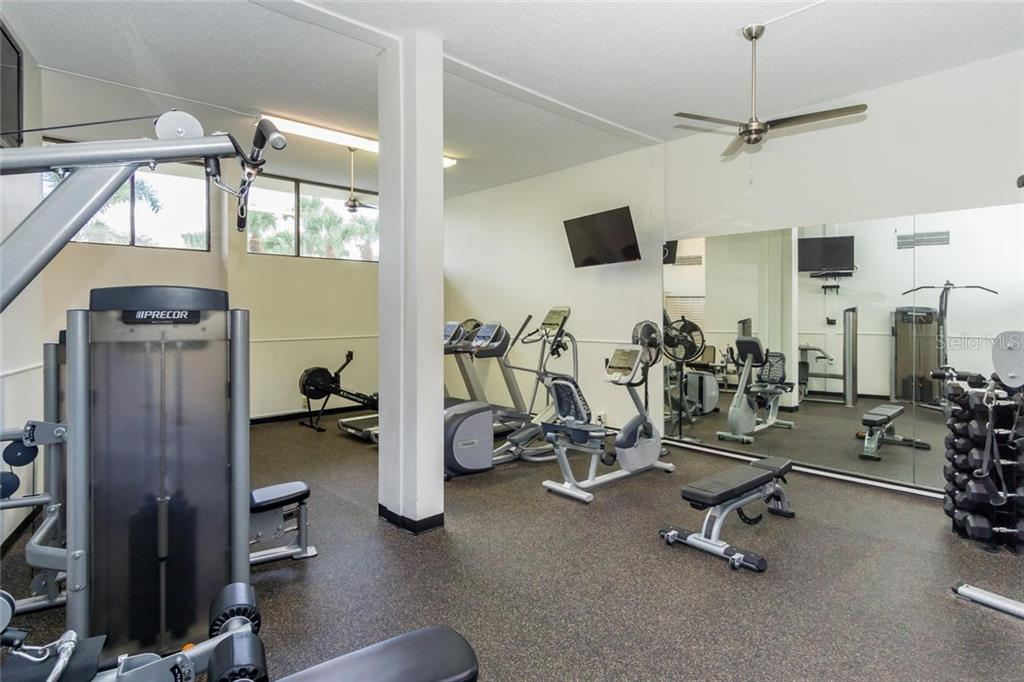 Exercise Room - Condo for sale at 5855 Midnight Pass Rd #429, Sarasota, FL 34242 - MLS Number is A4446942