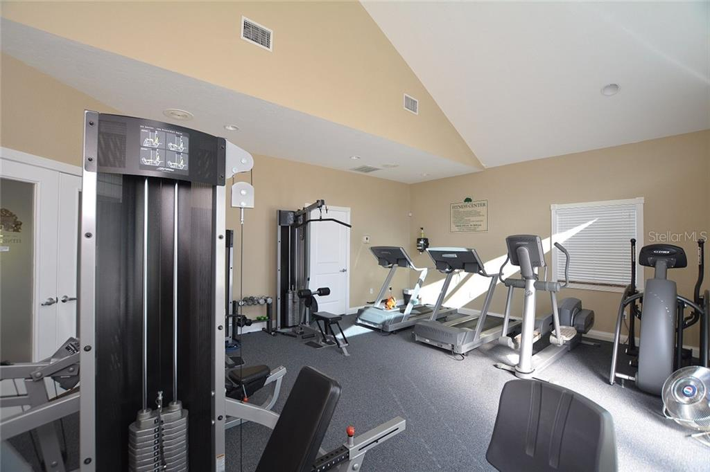 Community Fitness - Condo for sale at 5304 Manorwood Dr #2b, Sarasota, FL 34235 - MLS Number is A4448585