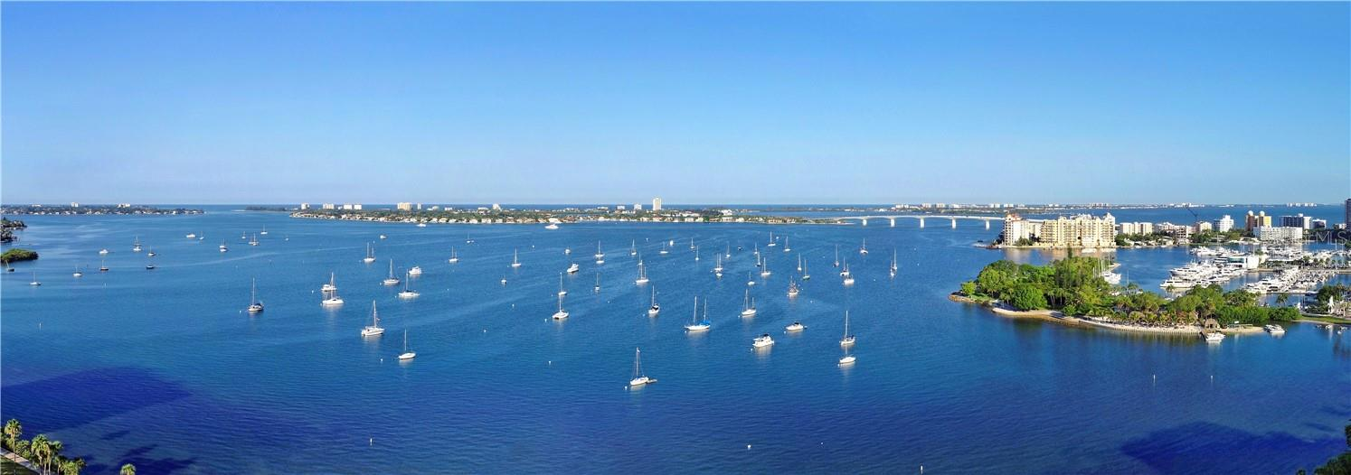Views from this full-floor home go on forever. - Condo for sale at 605 S Gulfstream Ave #15, Sarasota, FL 34236 - MLS Number is A4453705