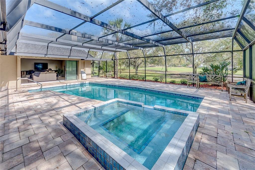 Beautiful unobstructed view of River Wilderness Golf & Country Club golf course. - Single Family Home for sale at 3110 Wilderness Blvd W, Parrish, FL 34219 - MLS Number is A4459975