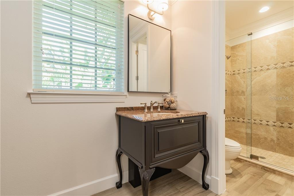 Shower area for bath next to Master Retreat Number 2 - Single Family Home for sale at 1418 John Ringling Pkwy, Sarasota, FL 34236 - MLS Number is A4467093