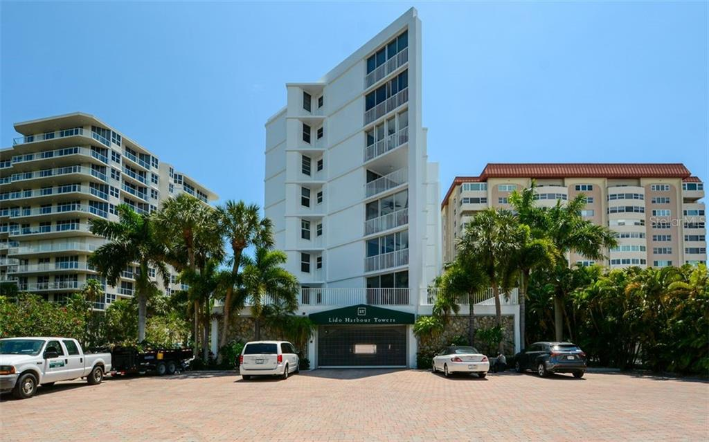 Secure under building parking and guest parking. - Condo for sale at 1770 Benjamin Franklin Dr #706, Sarasota, FL 34236 - MLS Number is A4469463