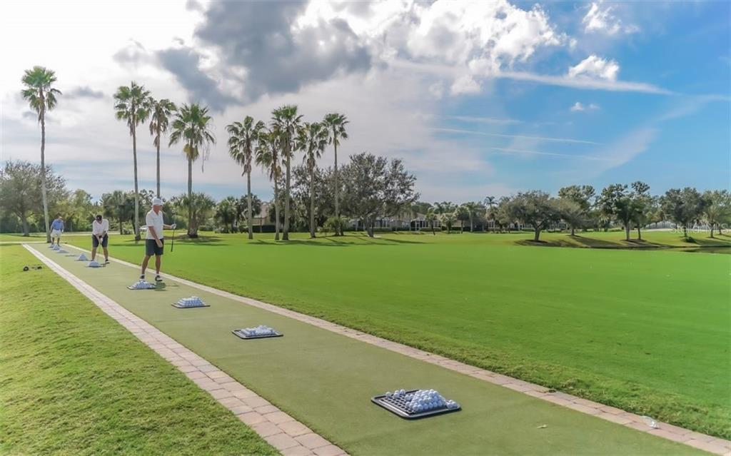 Practice tee hitting mat. - Villa for sale at 4590 Samoset Dr, Sarasota, FL 34241 - MLS Number is A4471881