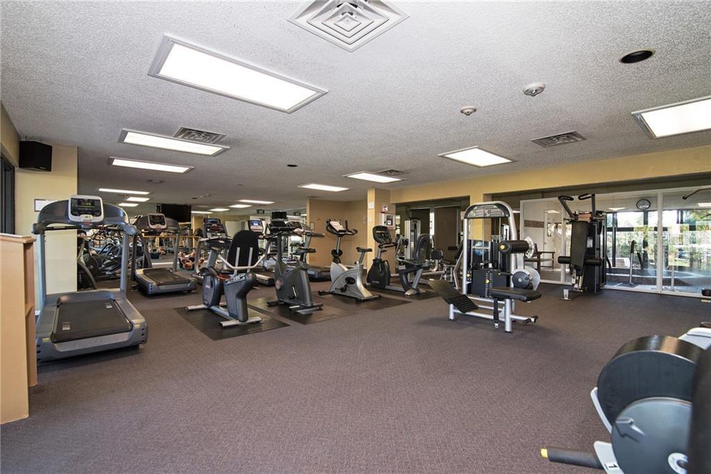 A well equipped health club is here for your enjoyment. - Condo for sale at 5770 Midnight Pass Rd #509c, Sarasota, FL 34242 - MLS Number is A4472645