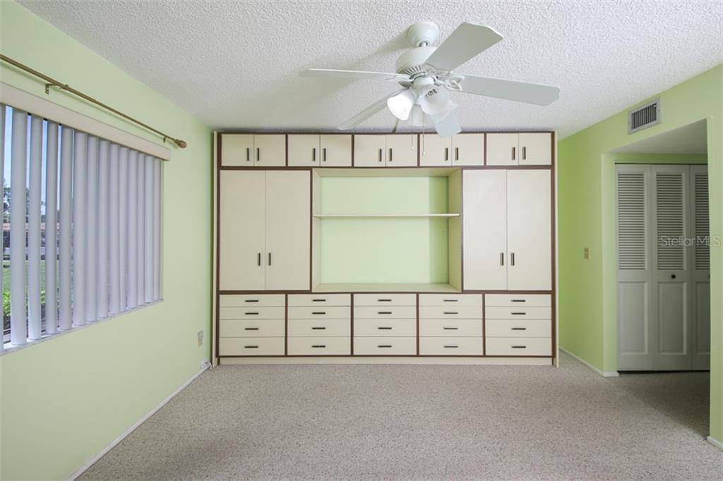 Master bedroom has 3 wall closets, plus the storage unit will stay. - Condo for sale at 1330 Glen Oaks Dr E #171d, Sarasota, FL 34232 - MLS Number is A4473999