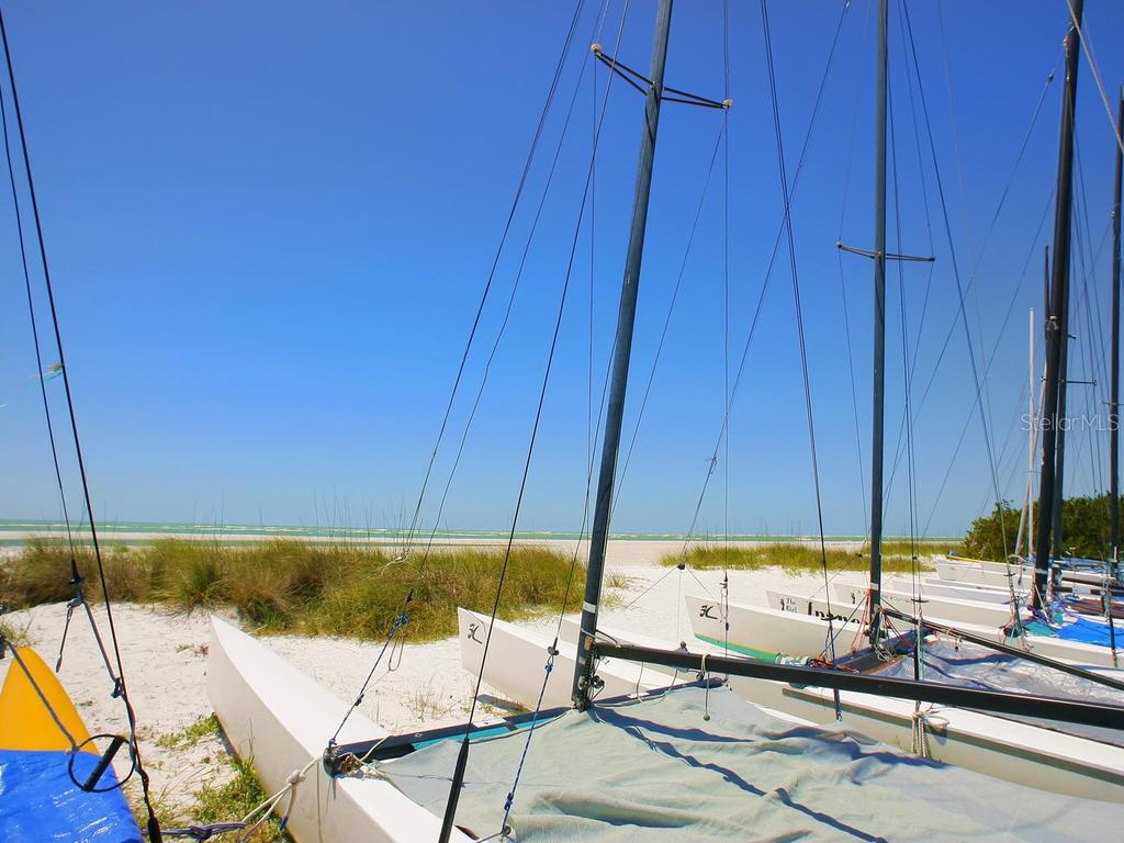 Catamarans waiting for your use - Single Family Home for sale at 500 Beach Rd #1, Sarasota, FL 34242 - MLS Number is A4474527