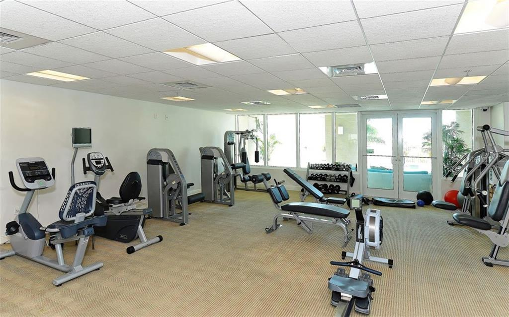 Fitness Center - Condo for sale at 1771 Ringling Blvd #1110, Sarasota, FL 34236 - MLS Number is A4474683