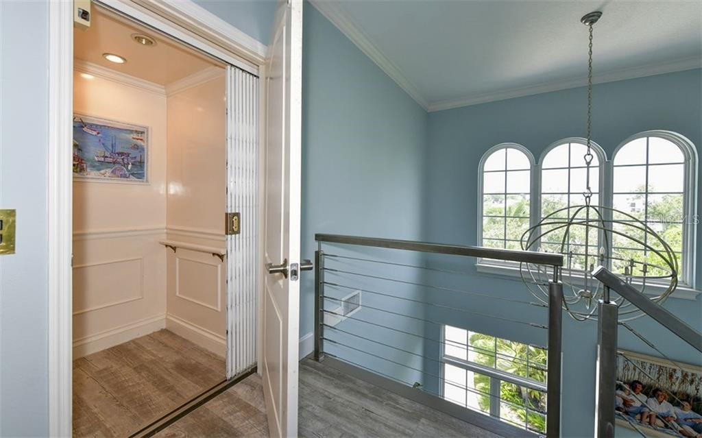 Elevator at 3rd level stop - Single Family Home for sale at 12901 42nd Ter W, Cortez, FL 34215 - MLS Number is A4478977